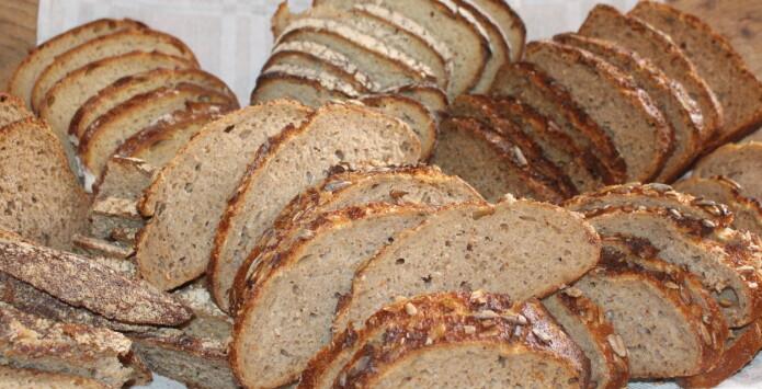Utmerket brød kan lages av mel fra gamle kornsorter dyrket i Nord-Trøndelag. (Foto Randi B. Frøseth)
