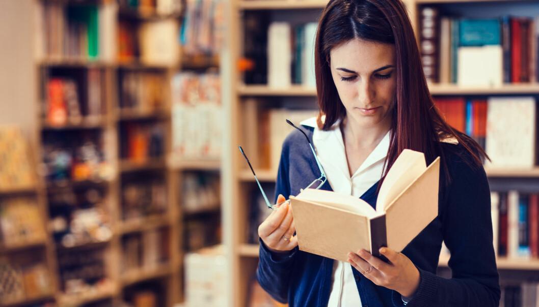 Mange lærere har positive erfaringer fra å lese bøker som barn, men har ofte ikke fortsatt som voksne. (Foto: Shutterstock/NTB scanpix)
