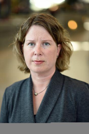Berglind Fjóla Smáradóttir (Foto: Atle Christiansen / Universitetet i Agder)
