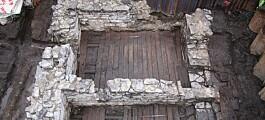 Arkeologisk funn fra middelalder-Oslo: Vanlige folk bygde også hus i stein