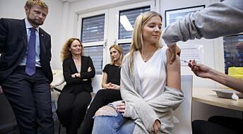 FHI håper mer enn fire av fem vil ta gratis HPV-vaksine