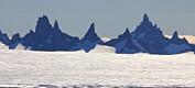 Anonyme breer og fjell i Antarktis får endelig navn