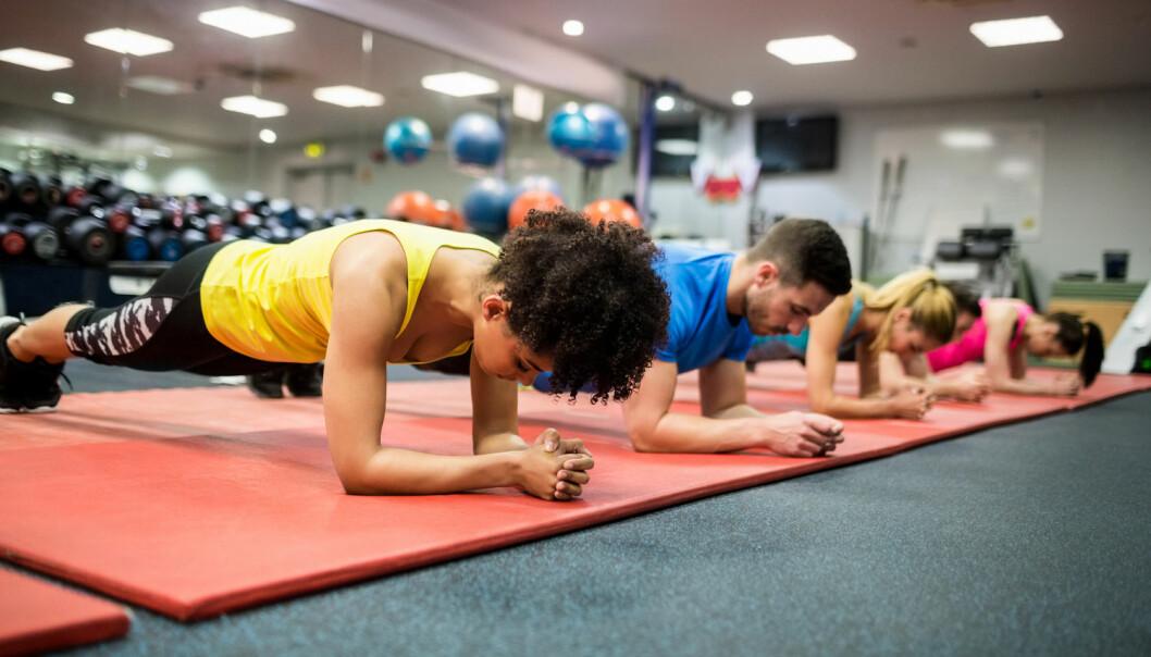 Svenske forskere mener trening og helse er den vestlige kulturens nye religion (Illustrasjonsfoto: wavebreakmedia/Shutterstock/NTB scanpix).