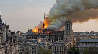 Notre-Dame-brannen: – Uvurderlig kunst og arkitektur har gått tapt