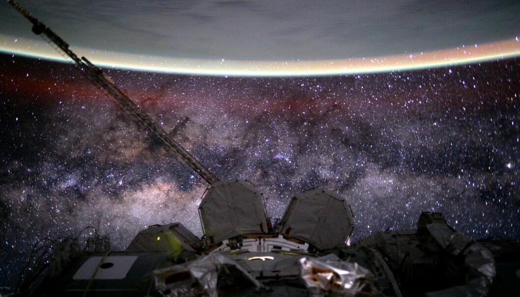 Bilde av Melkeveien. (Foto: NASA)