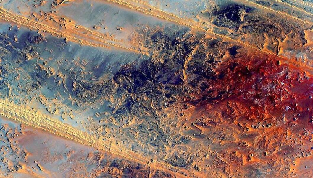 Bilde av Egypt. (Foto: NASA)
