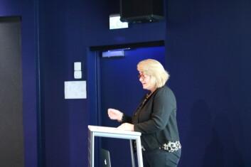 - For å finne ut årsaker til Alzheimer og mer om risiko, diagnose og behandling må forskere fra ulike miljøer treffes, understreket Anne Rita Øksengård ved Nasjonalforeningen for folkehelsen. (Foto: Kaia Tetlie/Corporate Communications AS)