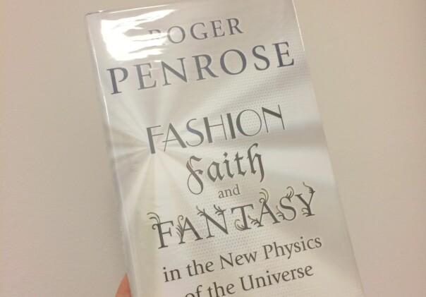 Sir Roger Penrose på Realfagsbiblioteket