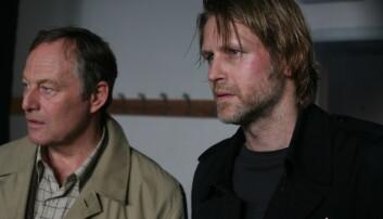 Trond Espen Seim var blant dem som fikk kritikk for sin dialog i NRK-serien Mammon. Her er han i Varg Veum: Falne engler fra 2008.  (Foto: SF Norge AS)