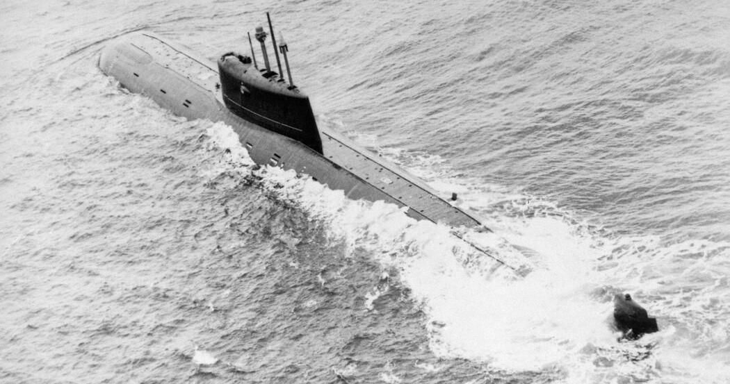 Det er 30 år siden atomubåten «Komsomolets» sank i Norskehavet. I sommer skal forskere undersøke vraket med nye metoder. (Foto: Wikipedia)