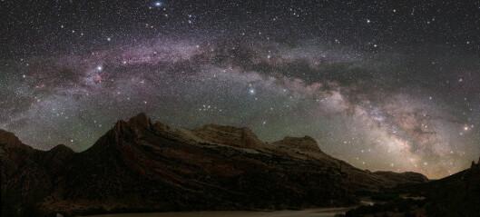 Lyset fra mennesker skjuler Melkeveien