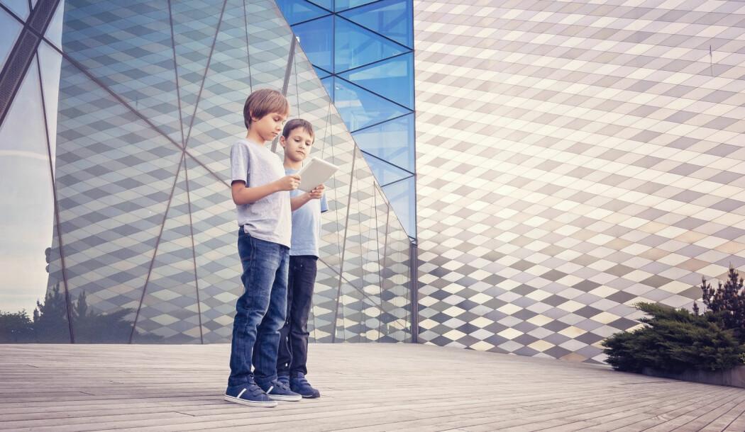 Byene blir tettere og tettere. Blir de gode steder for barna? (Illustrasjonsfoto: Colourbox)