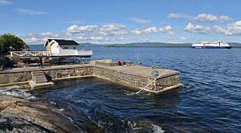 Kiel-fergen lager tsunamier i Oslofjorden