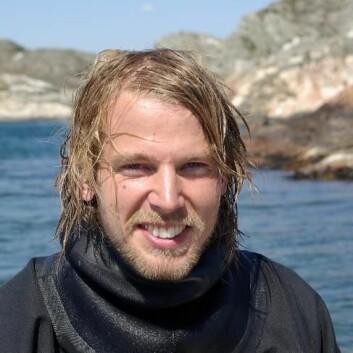 Sebastian Wacker har vært forsker ved NTNU i Trondheim. (Foto: NTNU)