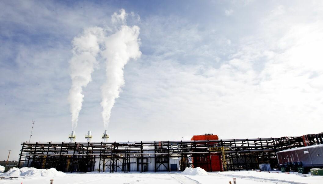 Et anlegg i Leismer i Canada hvor Statoil drev oljesand-utvinning i 2011. Selskapet, som i dag heter Equinor, solgte seg ut av denne virksomheten i Canada noen år senere. (Foto: Gorm Kallestad, NTB scanpix)