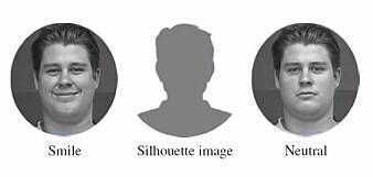 De potensielle kundene fikk se enten et smilebilde av konsulenten, et nøytralt bilde eller ikke noe bilde. Copyright Jeffrey Cohn.