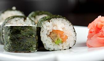 Lager norsk versjon av sushi-alge