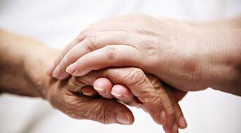 Frykter å ikkje klare møtet med døyande pasientar