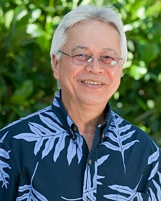 Larry Kimura, språkprofessor ved the University of Hawai'i. (Foto: University of Hawai'i)