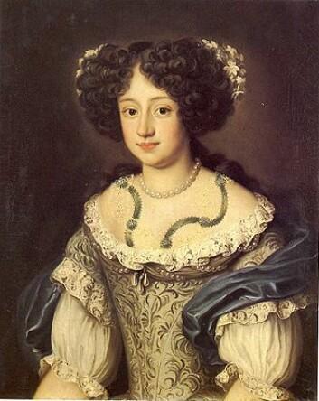 Da utroskapen ble avslørt, ble hertuginne Sophia Dorothea lukket inne på Ahlen slott i Tyskland og levde der i 30 år til hun døde. Elskeren, den svenske greven, forsvant sporløst. (Foto: Wikipedia)