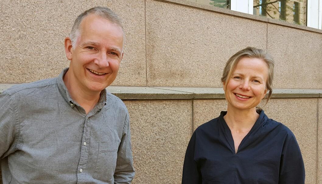 Anders Bakken og Ingrid Smette blir redaktører for Nordisk tidsskrift for ungdomsforskning. (Foto: OsloMet)