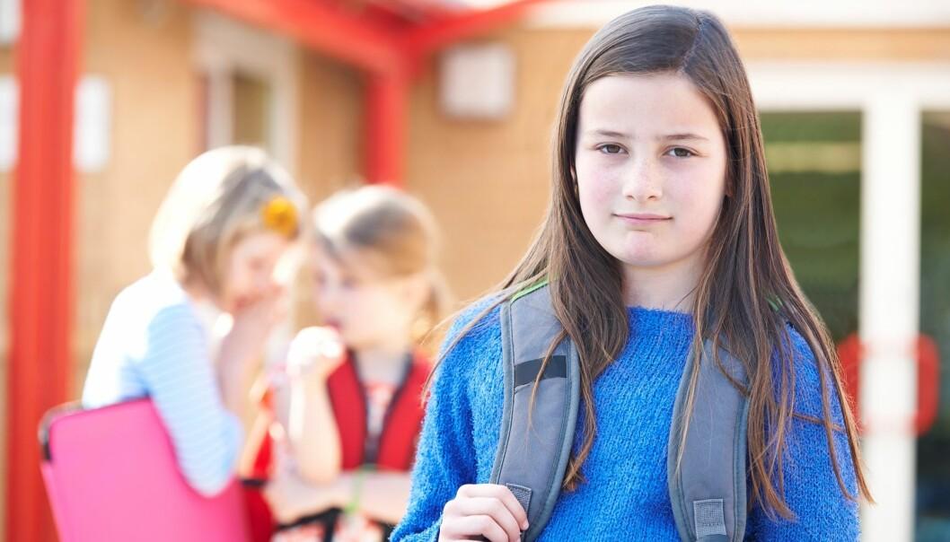 Barn skal sikres rett til å bli hørt uavhengig av foreldrene hvis barnet er uenig i de tiltakene som skolen iverksetter. Dette skjer ikke alltid. (Foto: Colourbox)