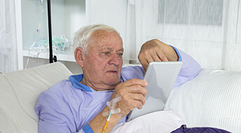 Bruk av nettbrett i kreftsykepleie