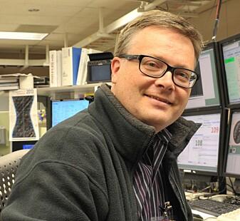 Håkon Dahle er forsker ved Institutt for teoretisk astrofysikk. (Foto: UiO)