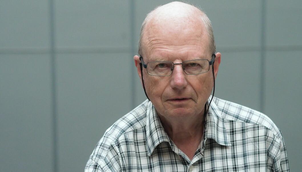 Aage Tverdal angrer på at han tok på seg jobben som gransker av en doktorgrad ved Norges veterinærhøgskole, som nå er en del av NMBU. I dag mener han at den aller viktigste dimensjonen ble borte under behandlingen av saken. (Foto: Ola Sæther)