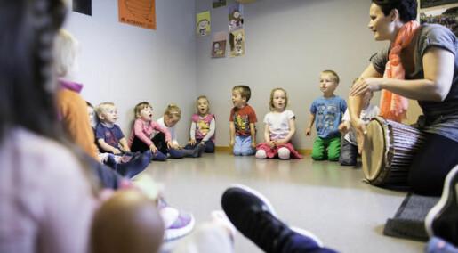 Stort flernasjonalt prosjekt skal forbedre småbarns trivsel