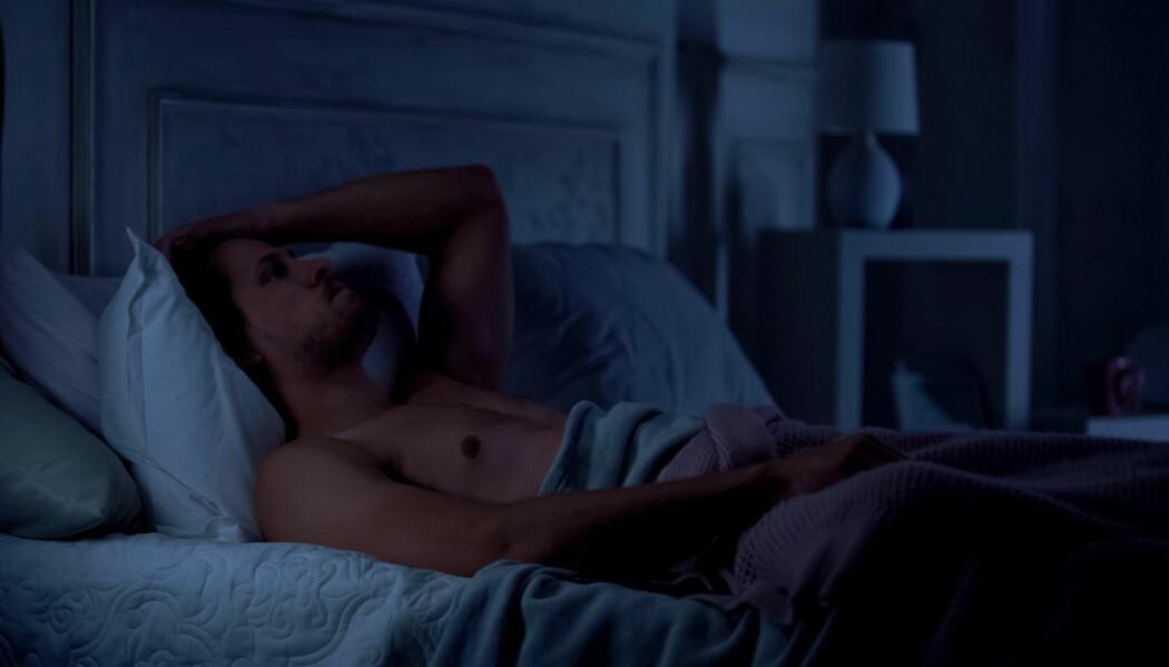 Tyskerne som sa at de ofte hadde problemer med å sove, hadde nesten dobbelt så høy risiko for å dø av hjerte- og karsykdommer som dem som sov godt. (Foto: Shutterstock/NTB scanpix)