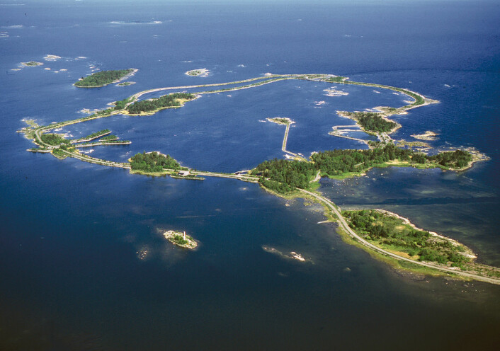 Utendørslaboratoriet Forsmark Biotest Enclosure i Sverige. (Foto: Göran Hansson)