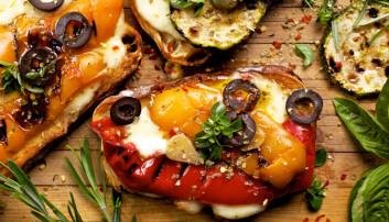 Vegetarkost er forbundet med lavere risiko for blant annet overvekt, hjerte- og karsykdommer, diabetes og kreft, ifølge Helsedirektoratet. (Foto: Shutterstock / NTB scanpix)