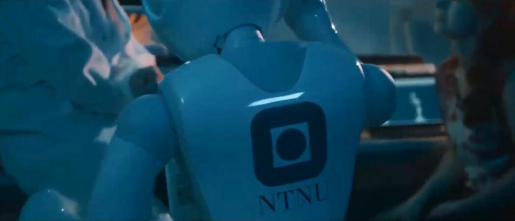 NTNU er del av et nytt nordisk nettverk innen kunstig intelligens. (Skjermbilde fra video om NTNUs AI-lab)