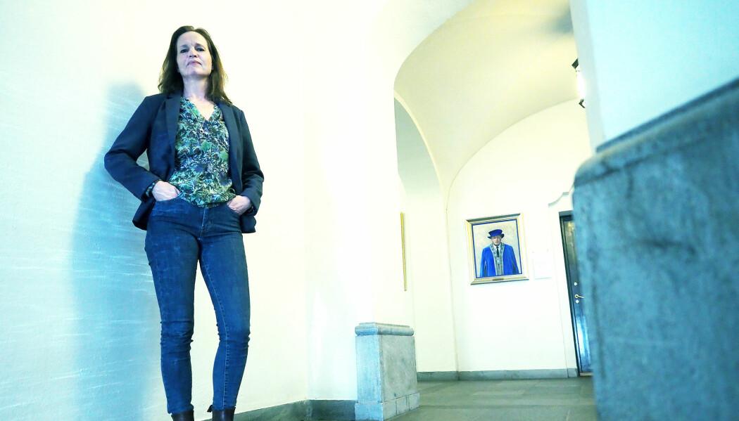 Anne Storset er dekan ved NMBU og den opprinnelige varsleren av mulig fusk i doktorgraden. (Foto: Ola Sæther)