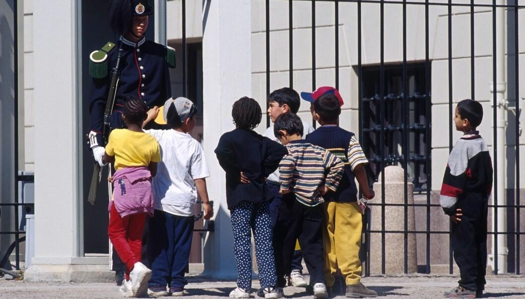 Barn fra noen etniske minoritetsgrupper gjør det til og med bedre enn jevnaldrende fra majoritetsbefolkningen som de har vokst opp sammen med.  (Foto: Espen Bratlie/Samfoto/NTB Scanpix)