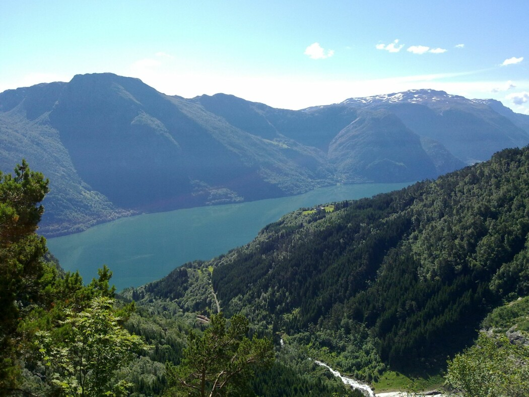 Forurenset av metaller: I Sørfjorden i Hardanger fant forskerne høye konsentrasjoner av både kvikksølv, sink, kadmium og bly. (Foto: Anders Ruus)