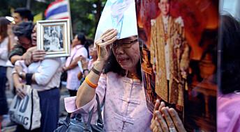 Spenning knyttet til tronskiftet i Thailand