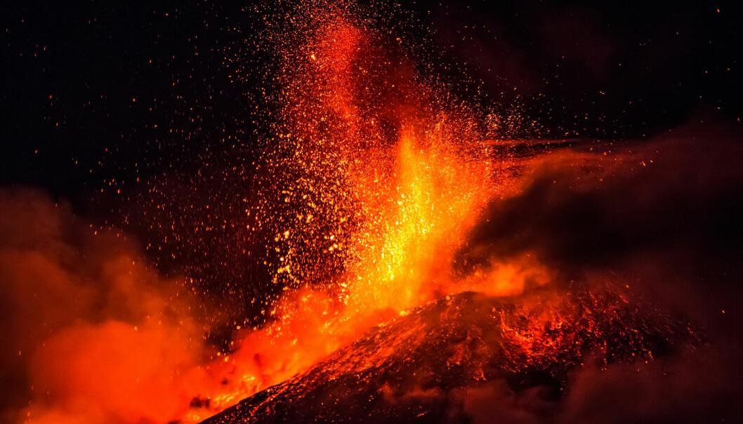Store, eksplosive, vulkanske utbrudd var mest sannsynlig hovedårsaken til verdens største masseutryddelse, ifølge ny forskning. (Foto: Wead, Shutterstock, NTB scanpix)