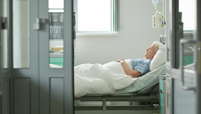 Eldre pasienter er mer utsatt for farlige situasjoner
