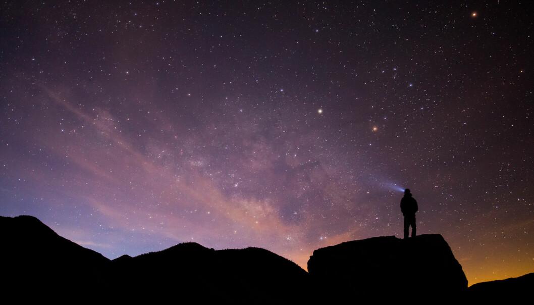 I denne podcasten forklarer stipendiat Inga Strümke noen grunnleggende sider ved universet. (Illustrasjonsfoto: Marc Schiffhauer / Shutterstock / NTB scanpix)