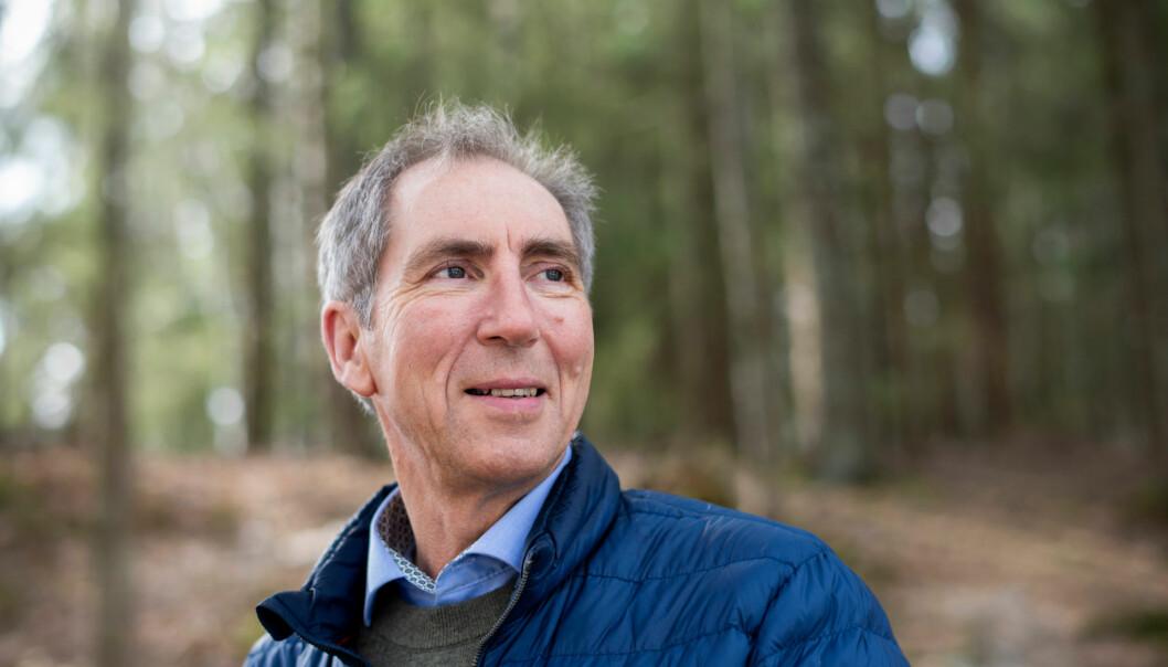 For Bjørnar Tollefsen (59) fra Bjørkelangen var det vanlig å våkne sliten før han for rundt seks år siden fikk diagnosen søvnapné. Noen netter kunne han slutte å puste 20 ganger i timen. (Foto: Sonja Balci)