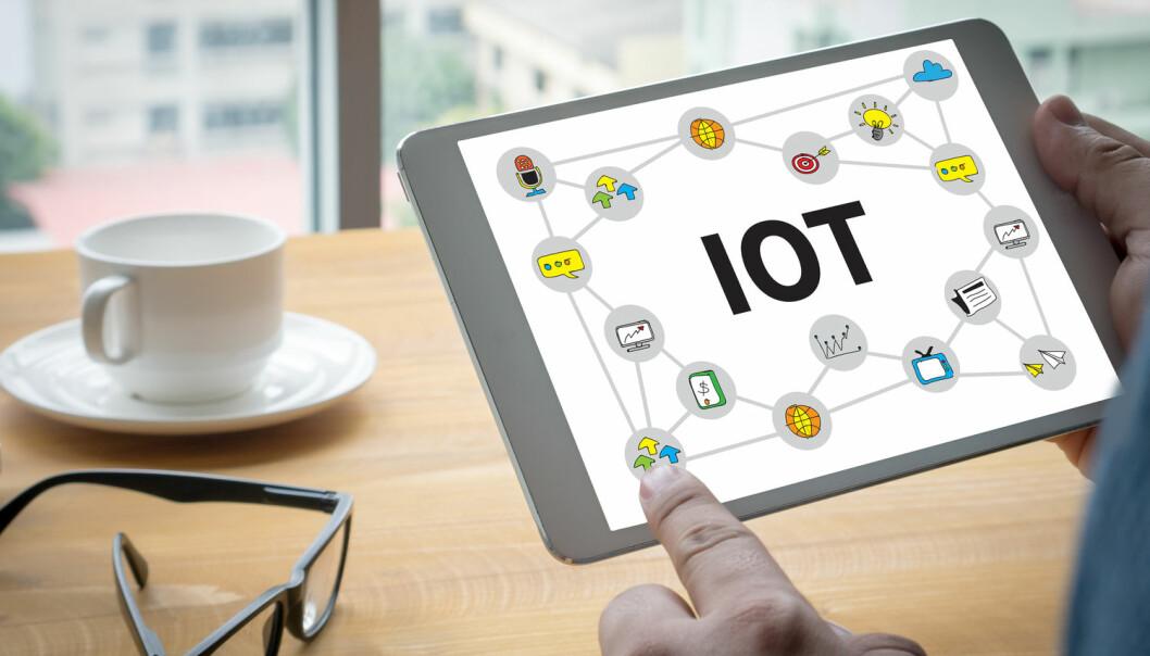 Tingenes Internet (IoT) blir av eksperter spådd det neste store innen informasjonsteknologien. Da vil kreve utvikling innen effektiv datahåndtering.   (Foto: one photo, Shutterstock, NTB scanpix)