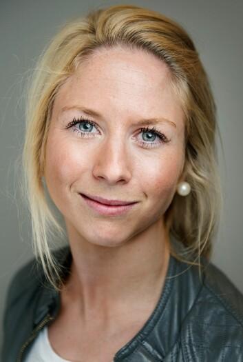 Stipendiat Ellisiv Lærum Jacobsen har bakgrunn som sykepleier og forsker på underernærte eldre i doktorgraden sin. Hun er knyttet til forskningsgruppen Aldring, helse og velferd ved HiOA. (Foto: Benjamin A. Ward)