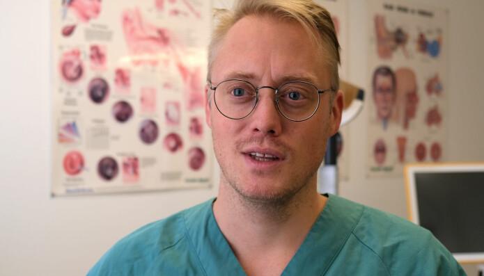 Stipendiat Kent Are Jamtøys forskning kan bli viktig for å hjelpe folk med enkelte type ansikts- og hodesmerter. (Foto: Svein-Inge Meland)