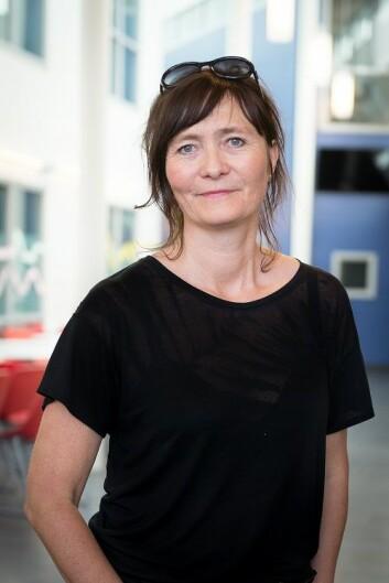 God psykisk helse er grunnmuren din, mener rådgiver Siri Dovland på Kjeller skole. (Foto: Kristin Mehlum)