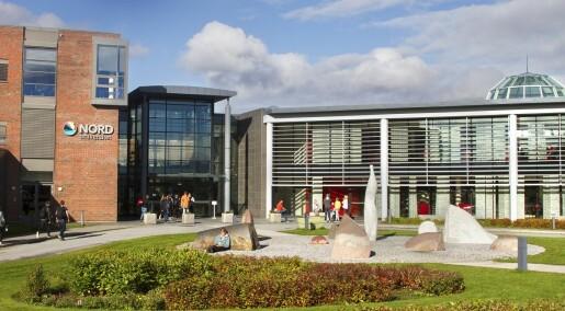 Nye, små universiteter får blø