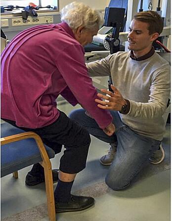 – Mange flere eldre burde få skikkelig trening – og god oppfølging for å gjøre det riktig, sier Sigve Nyvik Aas. (Foto: Privat)