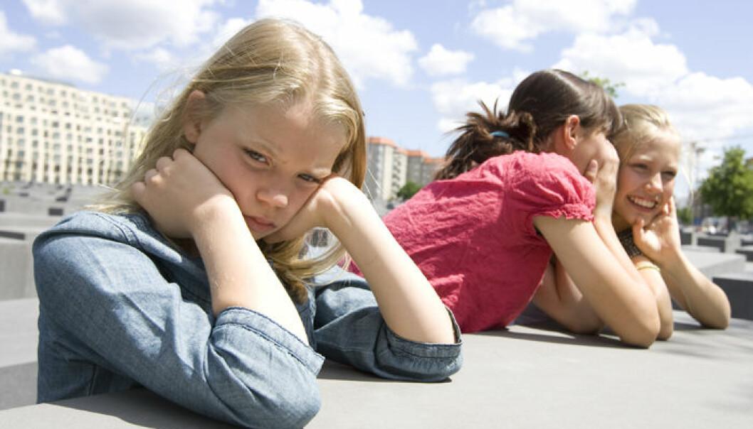 Elever som utsetter andre for mobbing opplever at de har etdårligere forhold til lærerne. (Illustrasjonsfoto: www.colourbox.no)
