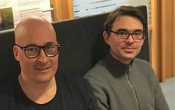 Thomas Hansen (t.v) og Tilmann von Soest mener at personlighet har noe til å si for risikoen for å bli ensom. (Foto: Siw Ellen Jakobsen)